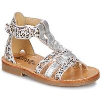 Topánky Dievčatá Sandále Citrouille et Compagnie GITANOLO Leopard