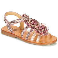 Topánky Dievčatá Sandále Citrouille et Compagnie MARINAS Ružová