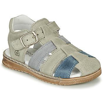 Topánky Chlapci Sandále Citrouille et Compagnie ZIDOU Šedá