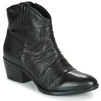 Topánky Ženy Polokozačky Mjus DALLAS-DALLY Čierna