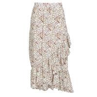 Oblečenie Ženy Sukňa Betty London MADILOU Biela / Červená