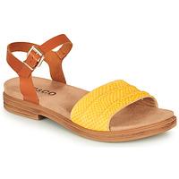 Topánky Ženy Sandále IgI&CO 5170711 Koňaková / Žltá