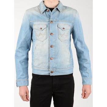 Oblečenie Muži Džínsové bundy Wrangler Denim Jacket W458QE20T blue