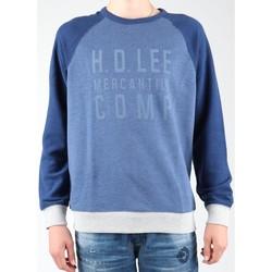 Oblečenie Muži Flísové mikiny Lee Graphic Crew SWS L80ODELR blue