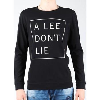 Oblečenie Muži Tričká s dlhým rukávom Lee Don`t Lie Tee LS L65VEQ01 black, white