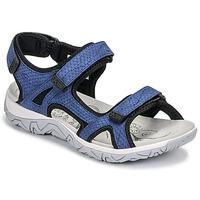 Topánky Ženy Športové sandále Allrounder by Mephisto LARISA Modrá