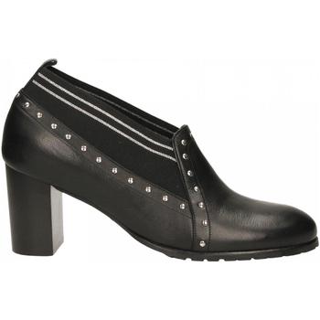 Topánky Ženy Derbie Essex VITELLO nero-argento
