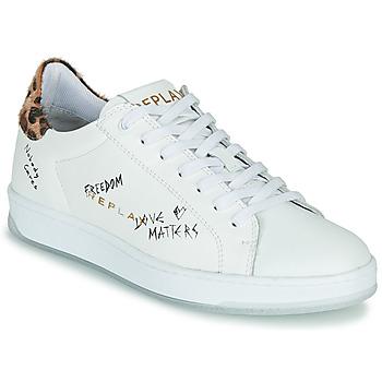 Topánky Ženy Nízke tenisky Replay MELANIA Biela