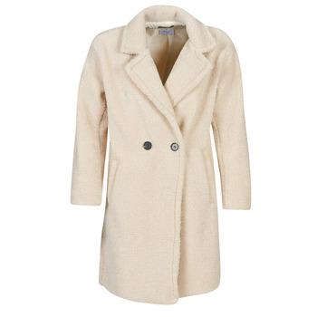 Oblečenie Ženy Kabáty Betty London  Béžová