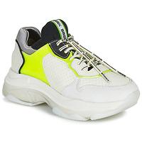 Topánky Ženy Nízke tenisky Bronx BAISLEY Biela / Žltá