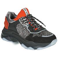 Topánky Ženy Nízke tenisky Bronx BAISLEY Čierna / Oranžová