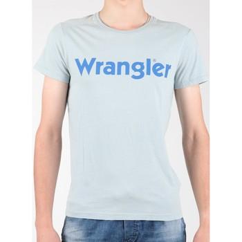 Oblečenie Muži Tričká s krátkym rukávom Wrangler S/S Graphic Tee W7A64DM3E grey