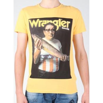 Oblečenie Muži Tričká s krátkym rukávom Wrangler T-shirt  S/S Graphic T W7931EFNG yellow