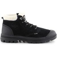 Topánky Ženy Snehule  Palladium Pampa LO WT Čierna