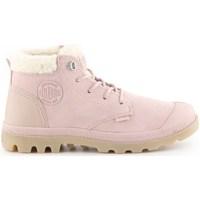 Topánky Ženy Snehule  Palladium Pampa LO Ružová