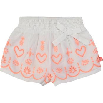 Oblečenie Dievčatá Šortky a bermudy Billieblush / Billybandit NEYO Biela
