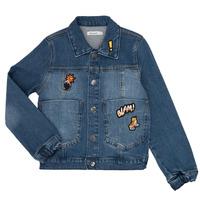 Oblečenie Chlapci Džínsové bundy Billieblush / Billybandit NOTINIO Modrá