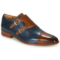 Topánky Muži Richelieu Melvin & Hamilton LANCE 34 Modrá / Hnedá