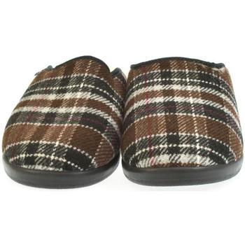 Topánky Muži Papuče Mjartan Pánske papuče  LEO 2 hnedá