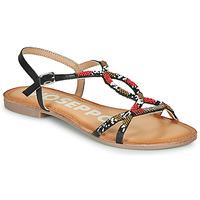 Topánky Ženy Sandále Gioseppo PARISH Čierna / Červená