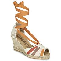 Topánky Ženy Sandále Gioseppo ARLEY Krémová / Žltá horčicová