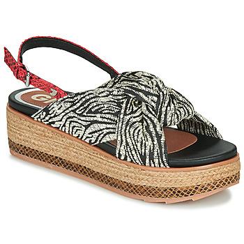 Topánky Ženy Sandále Gioseppo NEVELE Čierna / Červená