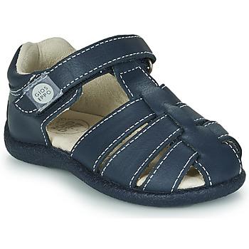 Topánky Chlapci Sandále Gioseppo LUINO Námornícka modrá