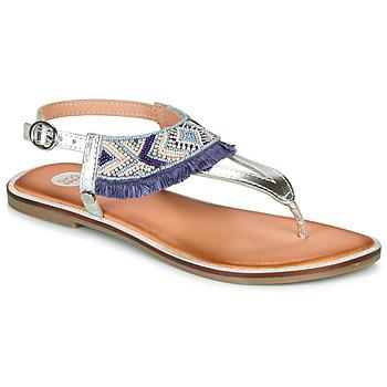 Topánky Dievčatá Sandále Gioseppo BERMUDAS Modrá / Biela
