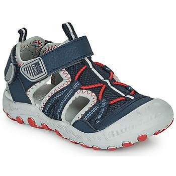 Topánky Chlapci Športové sandále Gioseppo MAZATLAN Námornícka modrá / Červená
