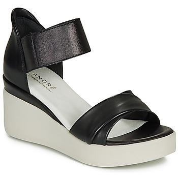 Topánky Ženy Sandále André HERMINIA Čierna