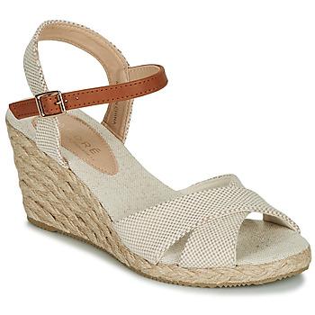 Topánky Ženy Sandále André PAULETTA Béžová