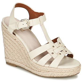 Topánky Ženy Sandále André PERLINE Biela