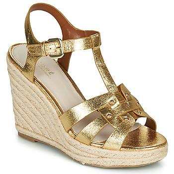 Topánky Ženy Sandále André PERLINE Zlatá