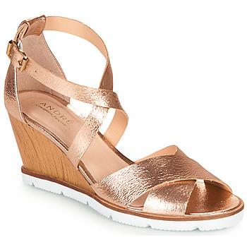 Topánky Ženy Sandále André PEONY Zlatá