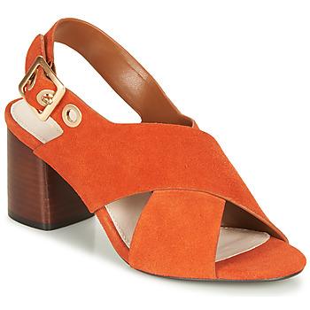 Topánky Ženy Sandále André JANNINE Oranžová