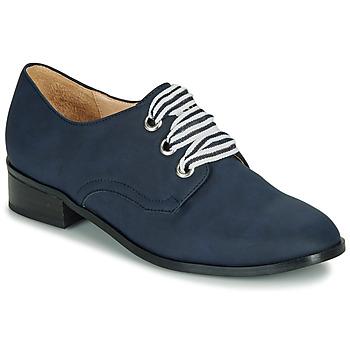 Topánky Ženy Derbie André MONTSERRAT Modrá