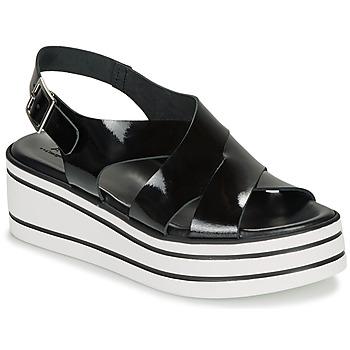 Topánky Ženy Sandále André ELVIA Čierna