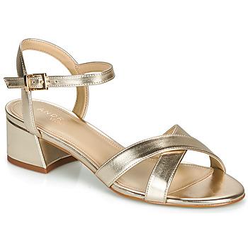Topánky Ženy Sandále André VICTORIA Zlatá