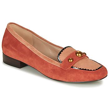 Topánky Ženy Mokasíny André L ACROBATE Ružová
