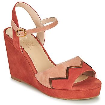 Topánky Ženy Sandále André LA JONGLEUSE Ružová