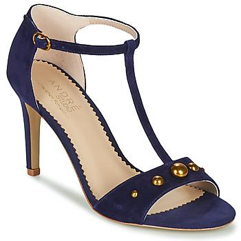 Topánky Ženy Sandále André LA DOMPTEUSE Modrá