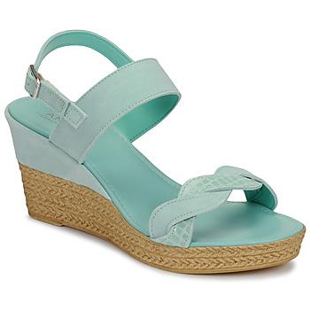 Topánky Ženy Sandále André ELOISE Modrá