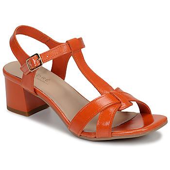 Topánky Ženy Sandále André JOSEPHINE Oranžová