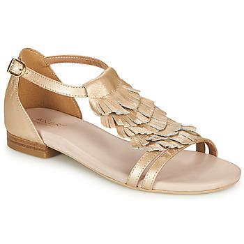 Topánky Ženy Sandále André BRIANA Zlatá