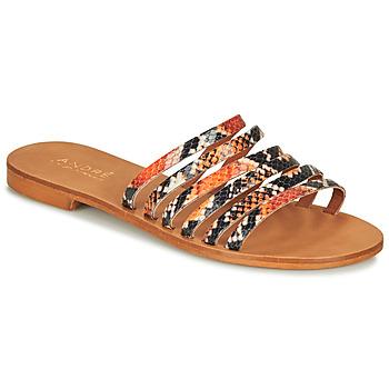 Topánky Ženy Sandále André BRAIDINE Oranžová