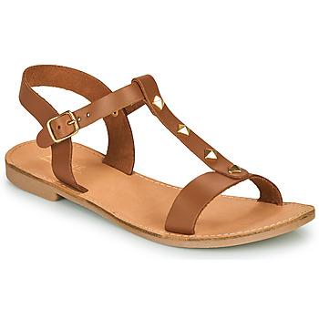Topánky Ženy Sandále André DOMINOU Ťavia hnedá