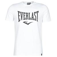 Oblečenie Muži Tričká s krátkym rukávom Everlast EVL LOUIS SS TS Biela