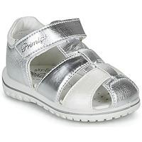 Topánky Dievčatá Sandále Primigi 5365555 Strieborná
