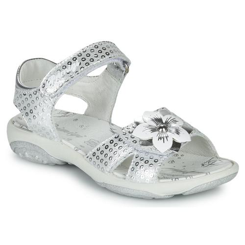 Topánky Dievčatá Sandále Primigi 5383533 Strieborná