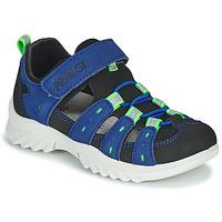 Topánky Deti Športové sandále Primigi 5371822 Modrá / Čierna
